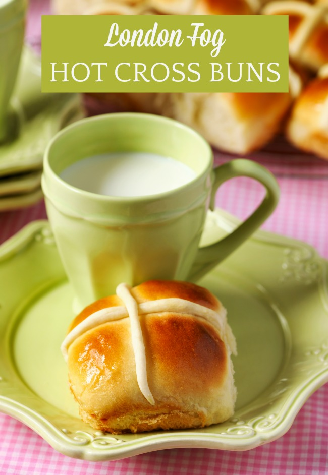 London Fog Hot Cross Buns