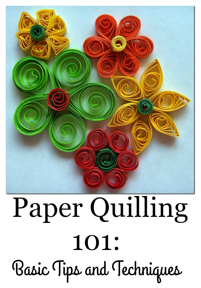 paper quilling 101