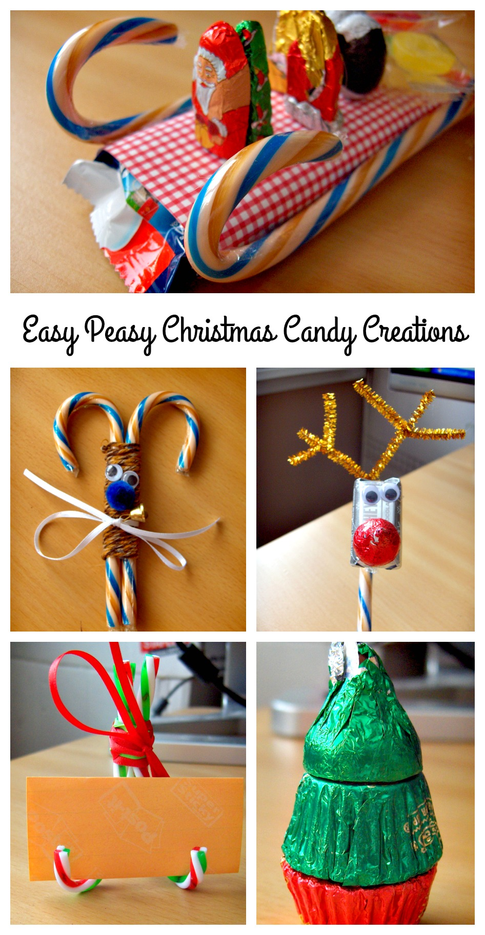 Easy Peasy And Fun: Easy Peasy Christmas Candy Creations You Can Make For The