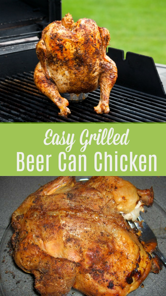 Easy Grilled Beer Can Chicken With Spice Rub Creative Cynchronicity