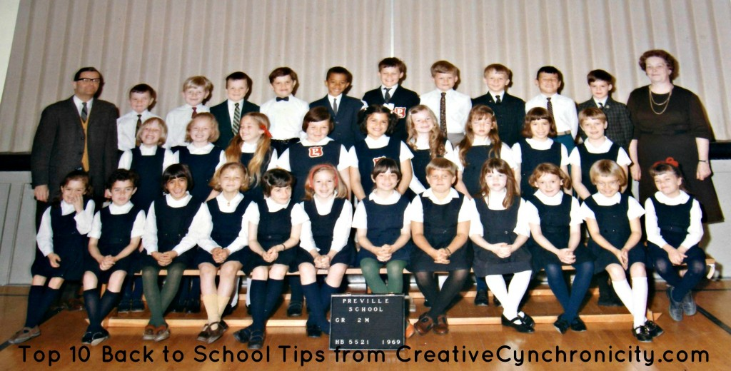 Top 10 Back to School Tips from CreativeCynchronicity.com