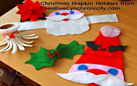 christmas napkin holders