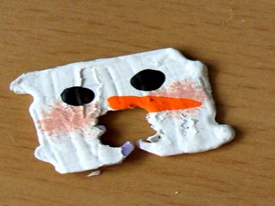 Snowman Bread Tags from CreativeCynchronicity.com