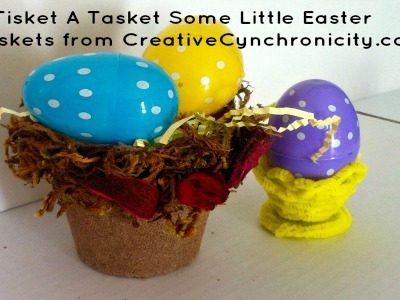 Little-Easter-Baskets from CreativeCynchronicity.com