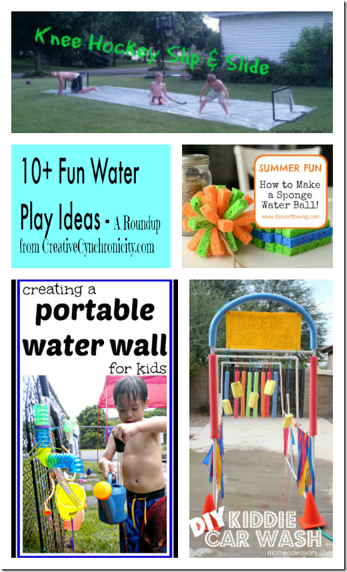 water play ideas for summer