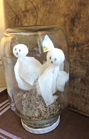 ghosts under glass craft