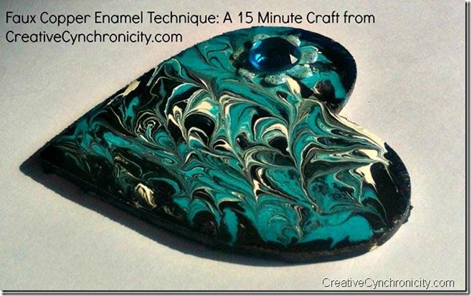 faux-copper-enamel-technique