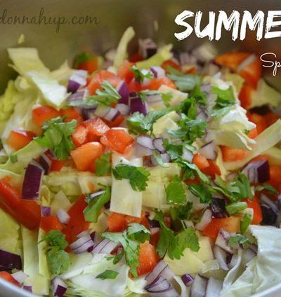 Spicy Summer Slaw recipe