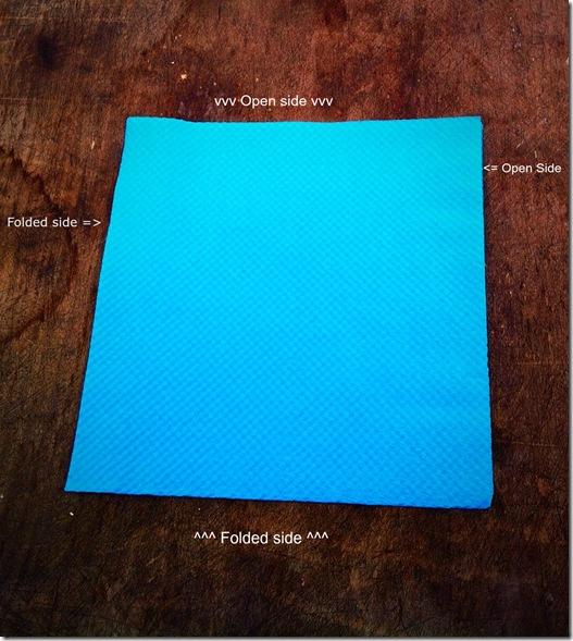 renova-napkin-folding-step-one