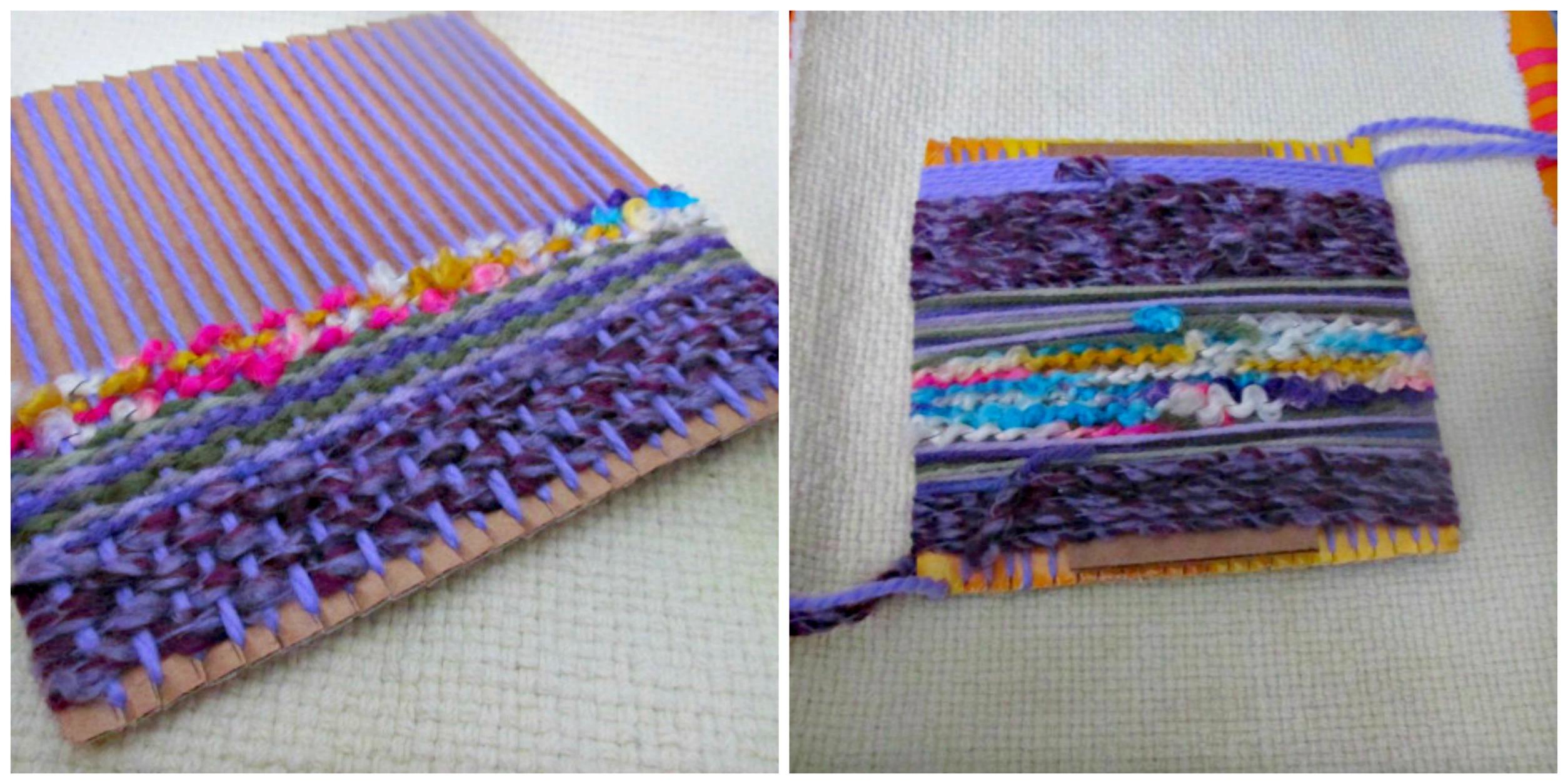 saori weaving technique
