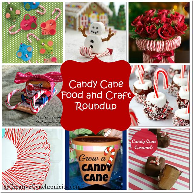 Candy Cane Food and Craft Roundup  CreativeCynchronicity.com
