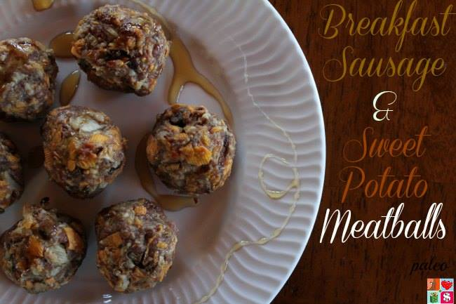 breakfast sausage and sweet potato meatballs