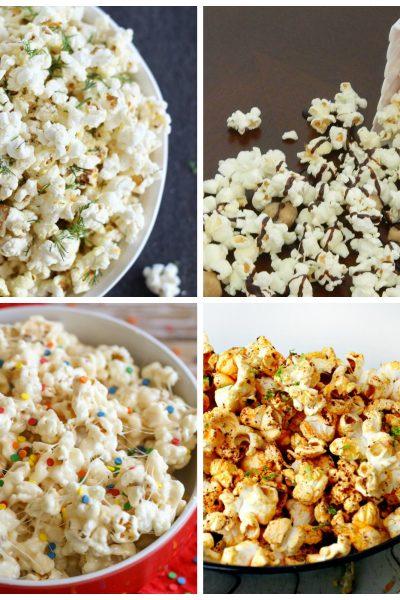 4 fun popcorn recipes for family movie night