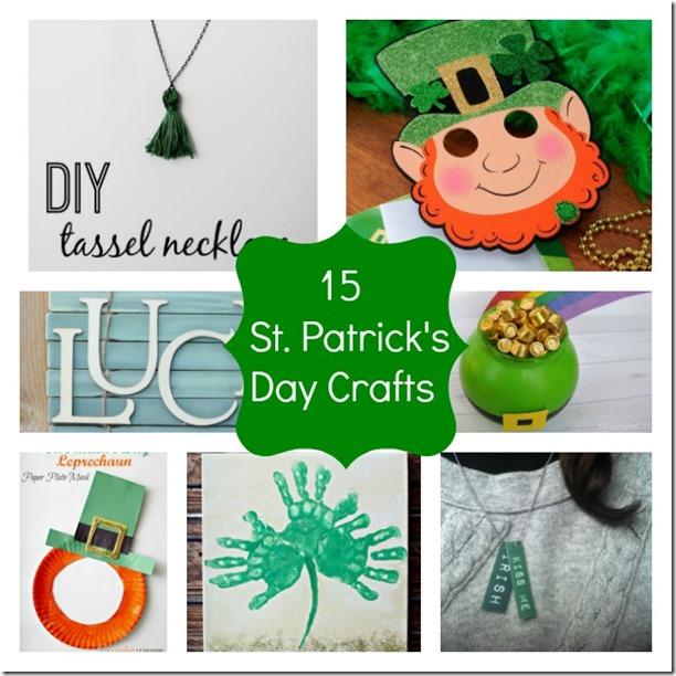 15 St Patrick's Day Crafts