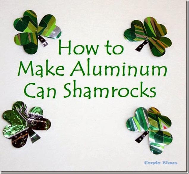 how to amke aluminum can shamrocks_thumb[2]