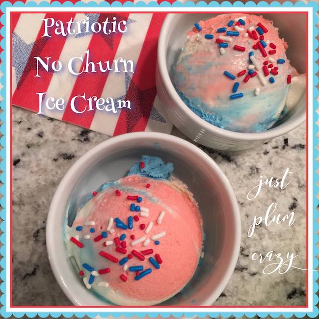 patriotic no churn ice cream recipe