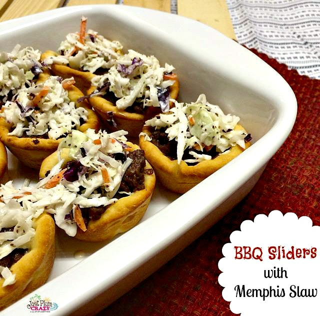 BBQ Sliders with Memphis Slaw
