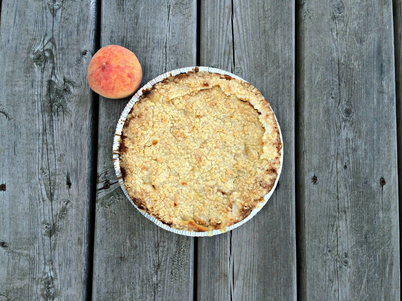 Delicious Peaches and Cream Pie Recip