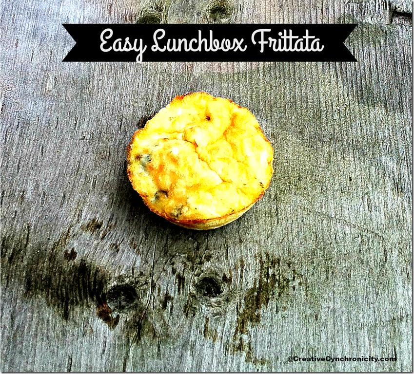 Easy Lunchbox Frittata from Creative Cynchronicity
