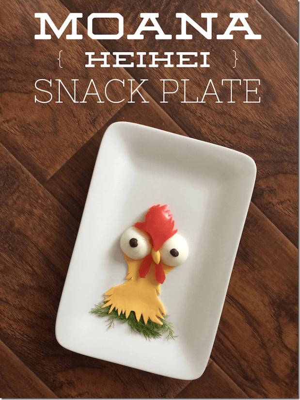 Moana-HeiHei-Snack-Plate