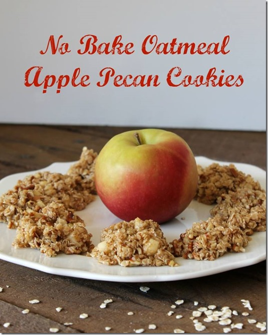 No-Bake-Oatmeal-Apple-Pecan-Cookies