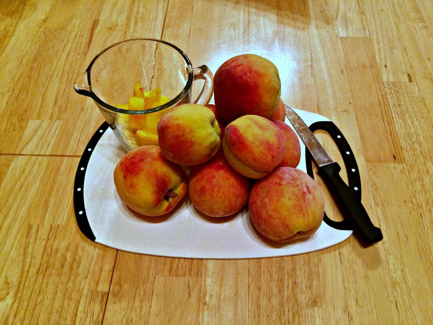 Fresh and beautiful in season peaches from Loblaws
