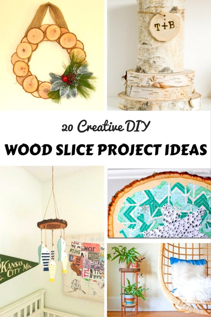 Creative DIY Wood Slice Projects