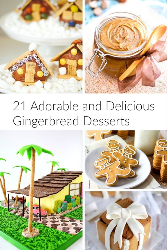 21 adorable and delicious gingerbread desserts recipes