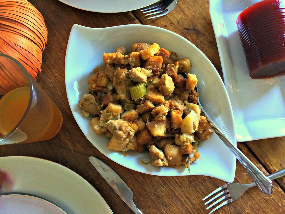 sausage-and-apple-stuffing