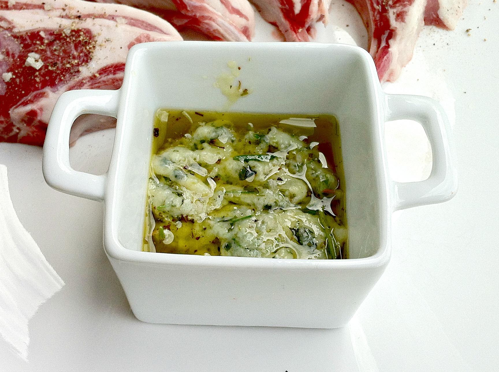 Garlic and Herb Rub Marinade