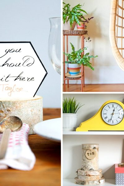 20 DIY wood slice projects