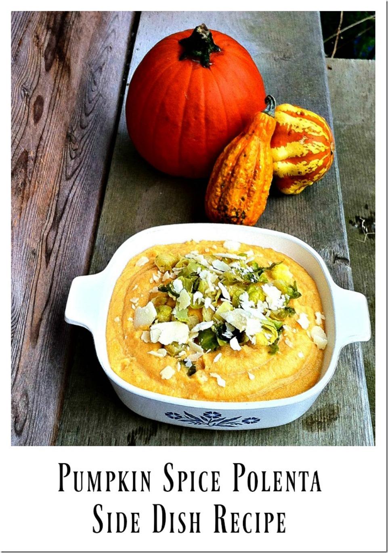 pumpkin spice polenta side dish recipe