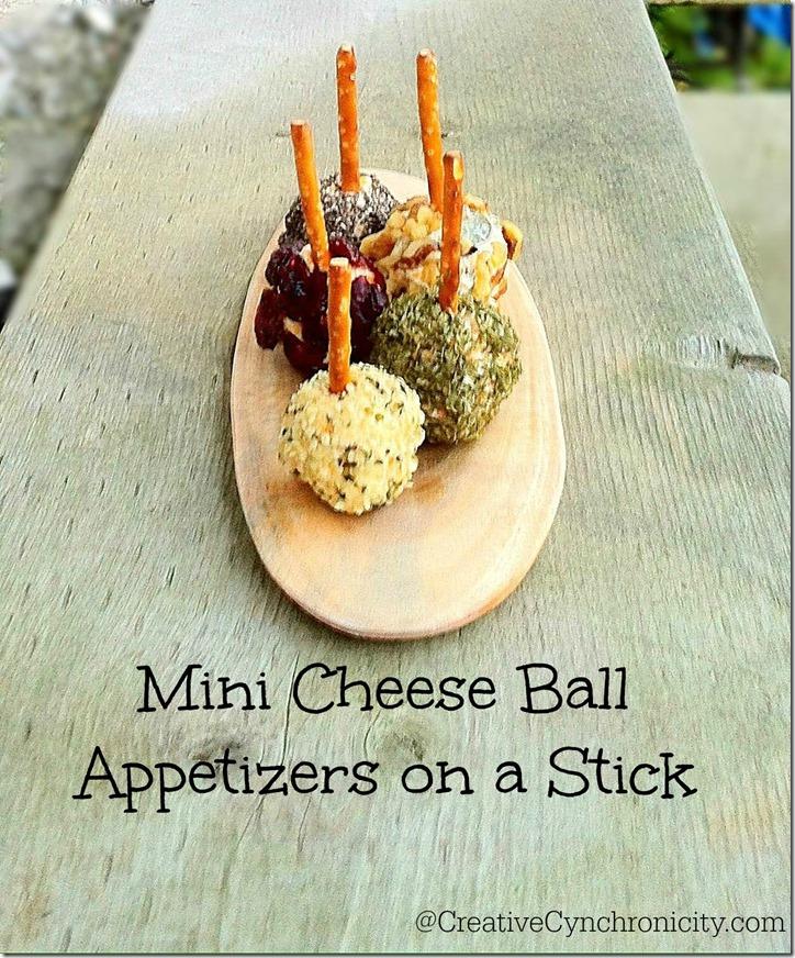 Mini Cheese Ball Appetizer Recipe