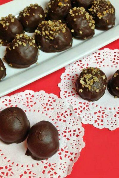 chocolate coconut bonbons