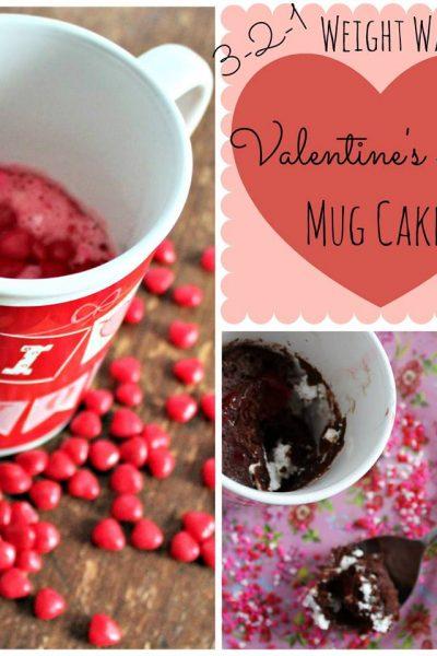 valentines day mug cakes weight watchers friendly recipe