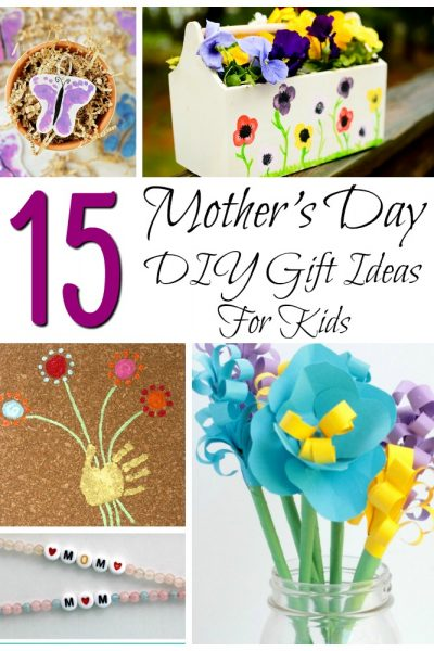 Mother's Day DIY Gift Ideas for Kids.