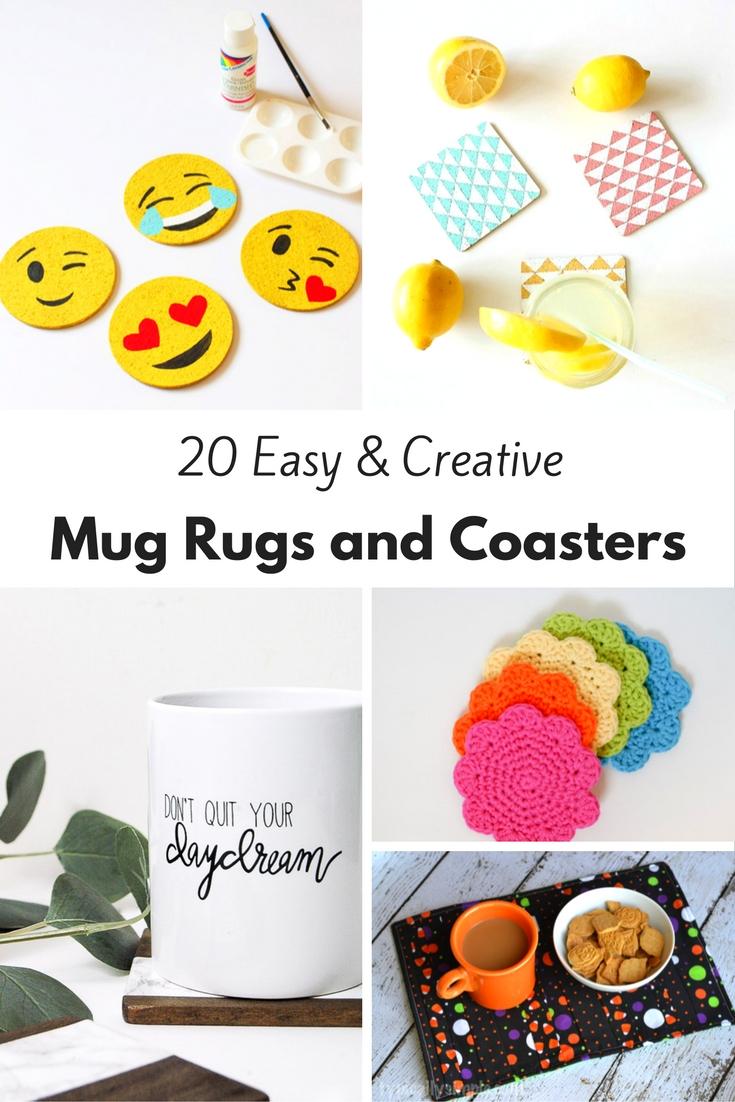 DIY Mug Rugs and Coasters