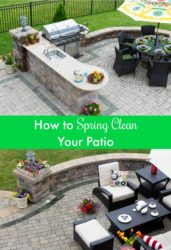 How to Spring Clean Your Patio