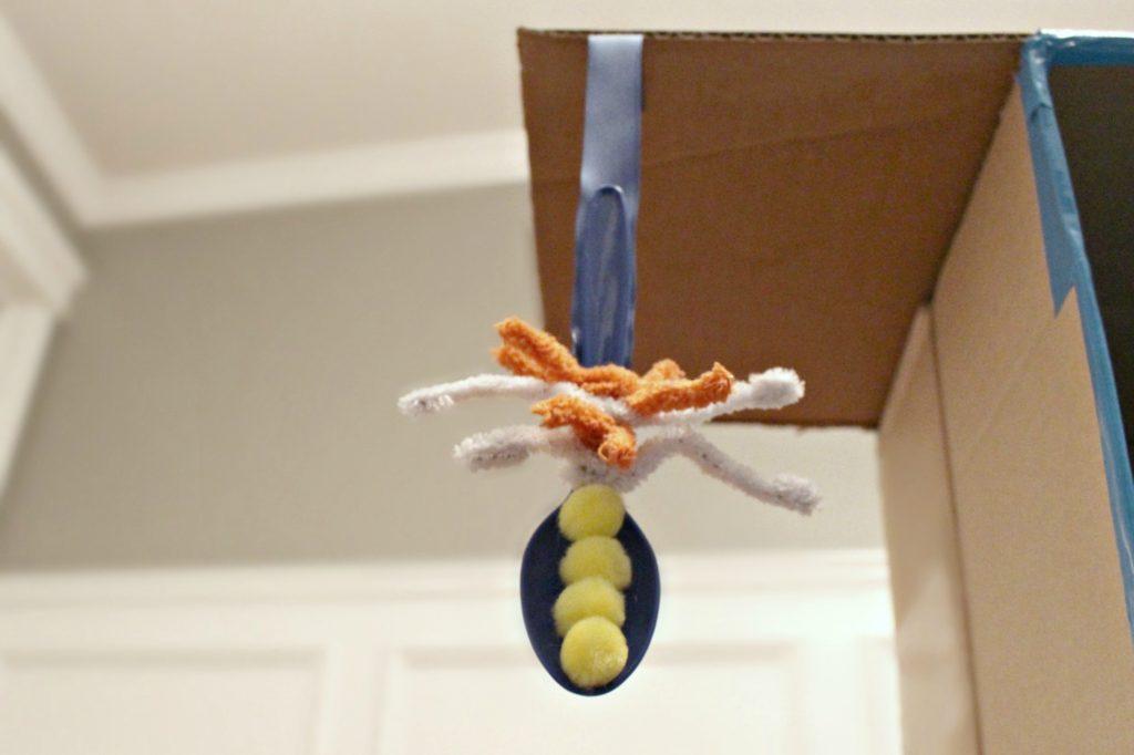 DIY Spoon Cat Toy Step 5