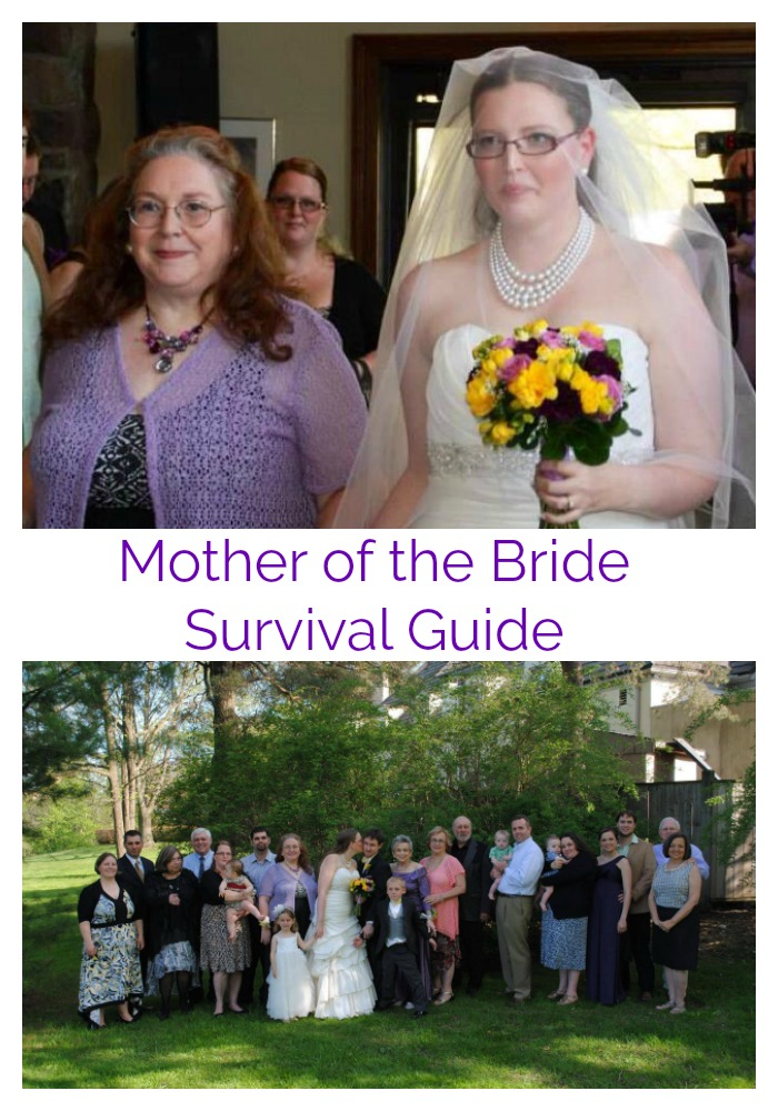 Mother of the Bride Survival Guide