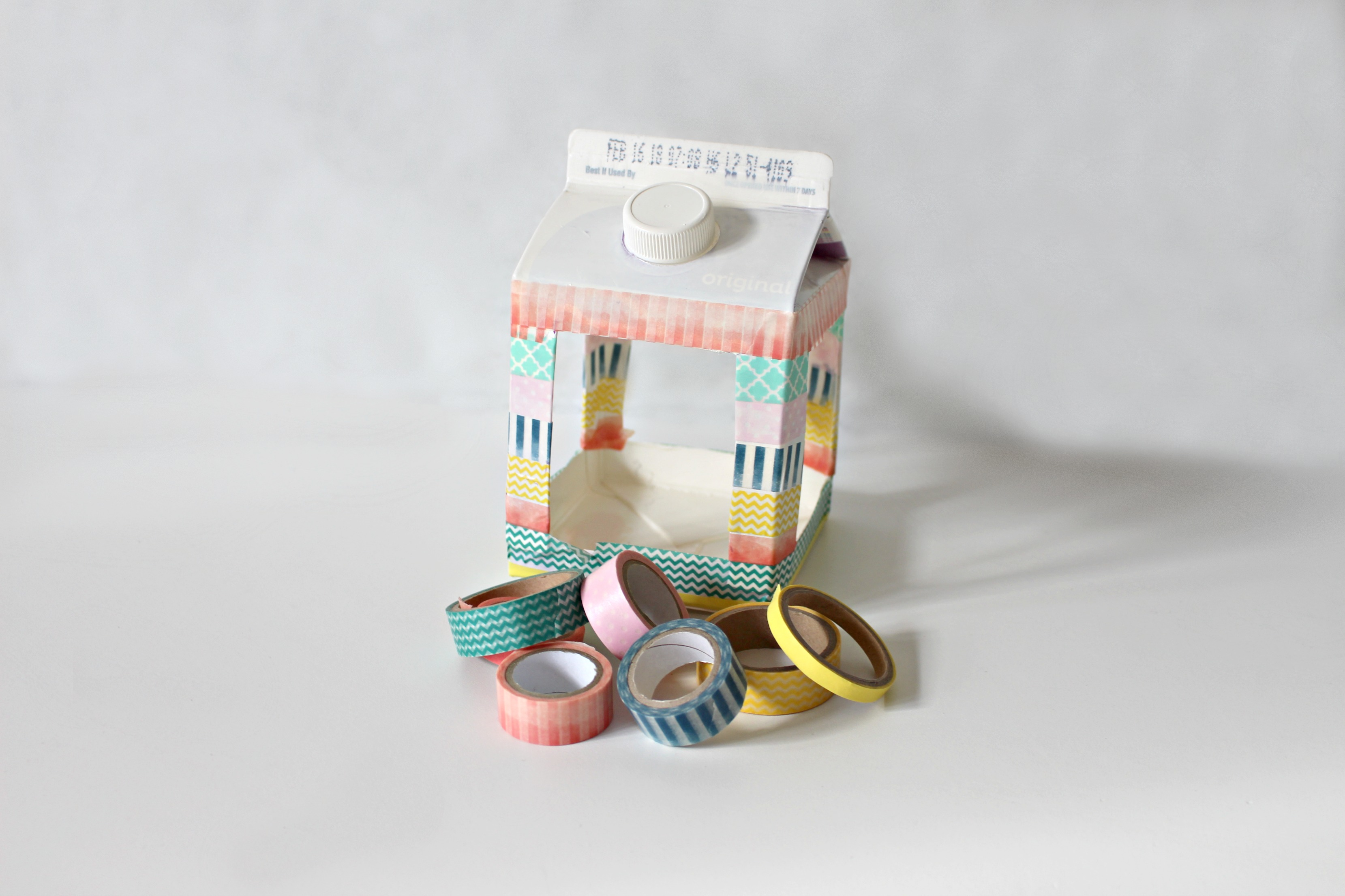 Step 6 washi birdhouse
