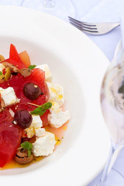Watermelon Salad at Sopwell House by Executive Head Chef Gopi Chandran
