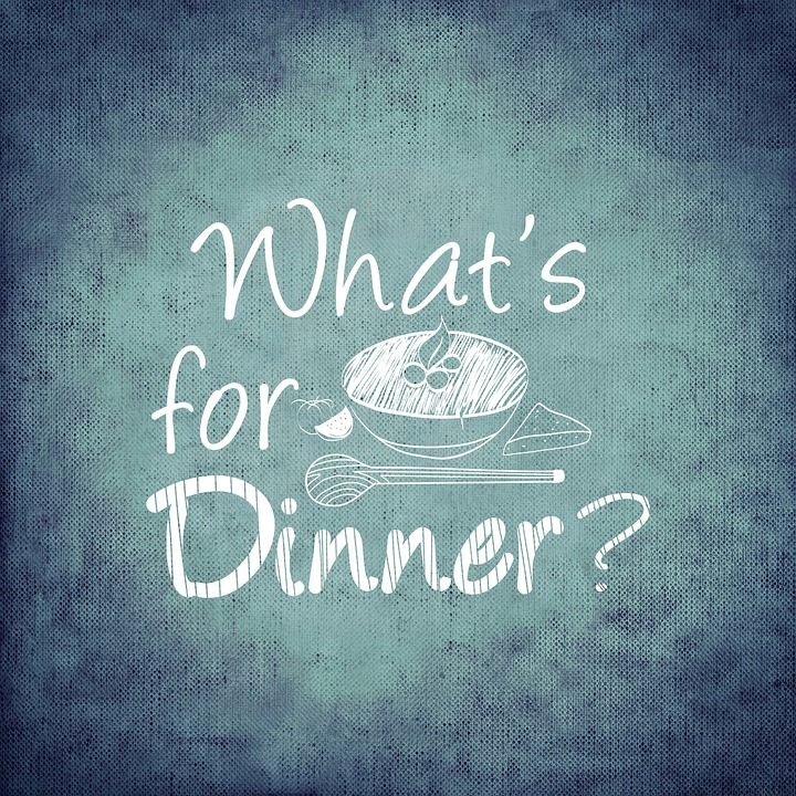 what's for dinner - weekly meal plan