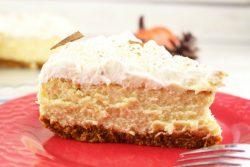 pumpkin eggnog cheesecake recipe