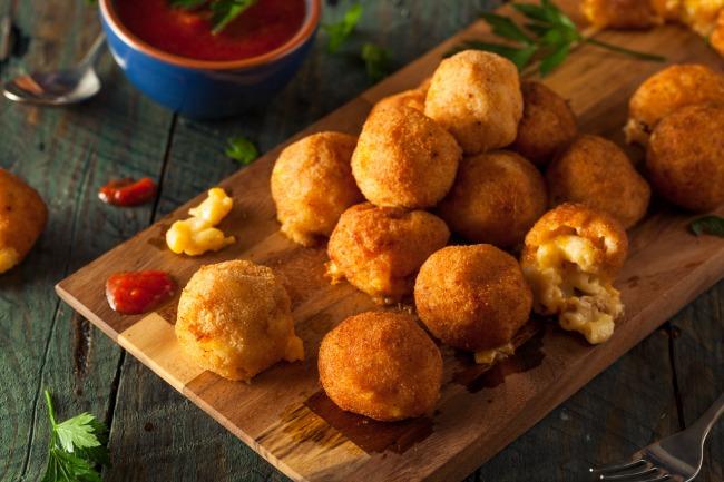 baked macaroni and cheese bites recipe