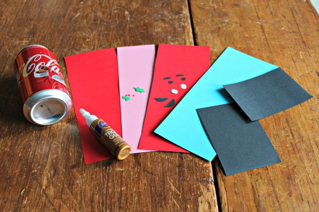 materials you will need for paper nutcracker