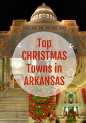 top christmas towns in arkansas