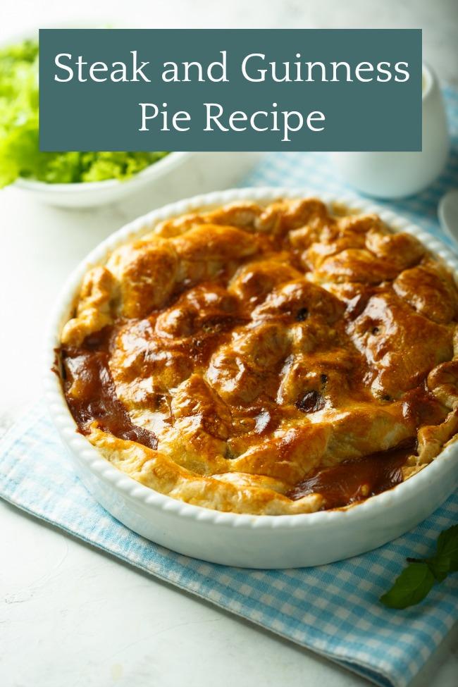 steak and guinness pie recipe