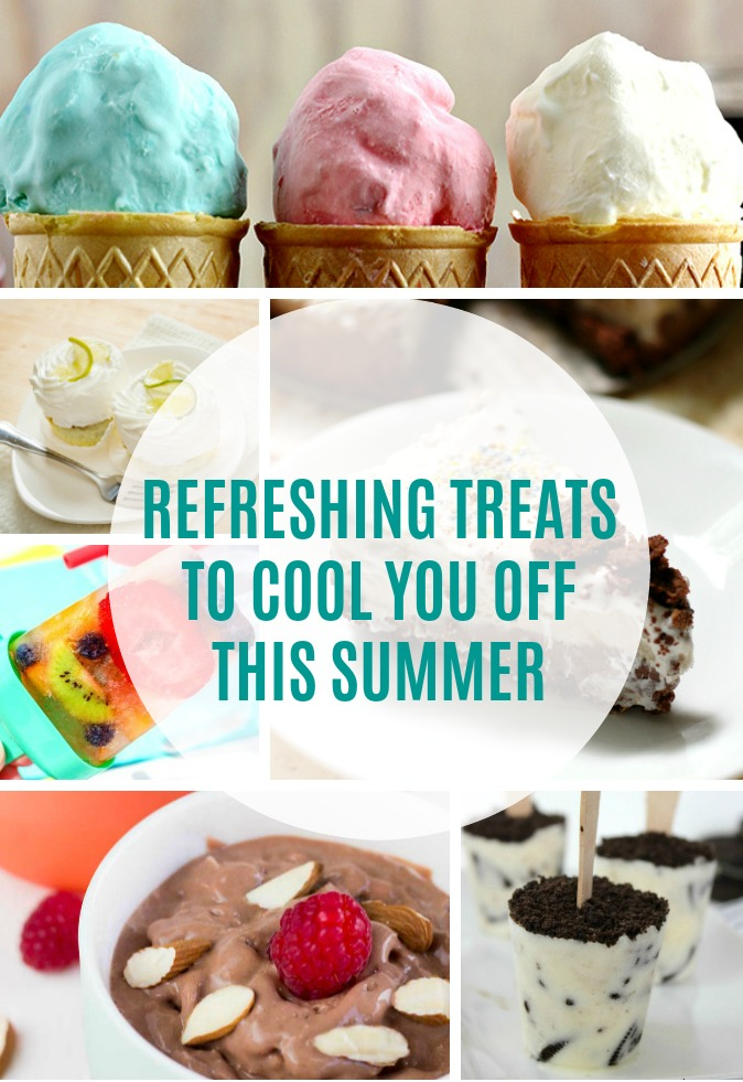 Refreshing Treats to Cool You Off This Summer