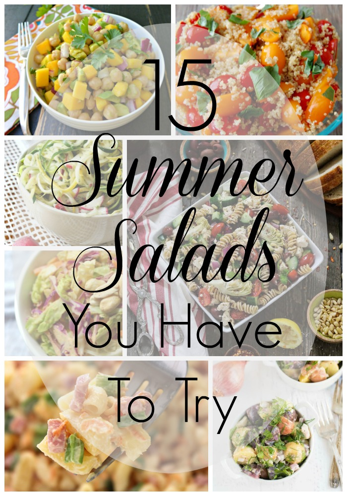 summer salads you have to try